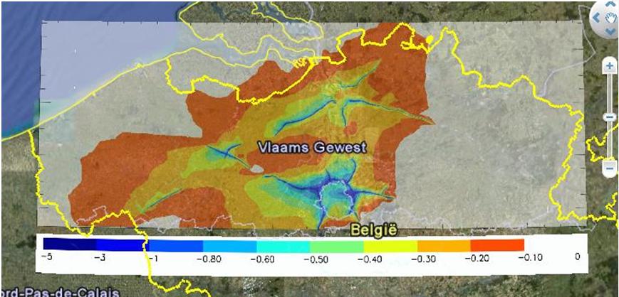 Invloed SMOG90-maatregel op PM10