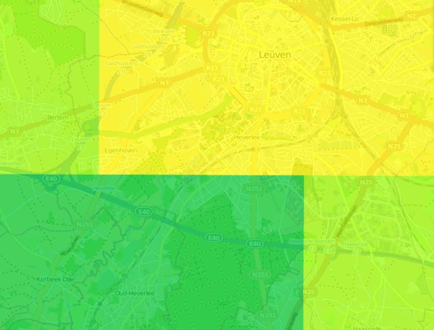 RIO 4x4km - Leuven
